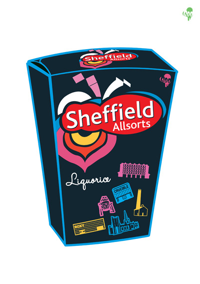 sheffield allsorts by goo design