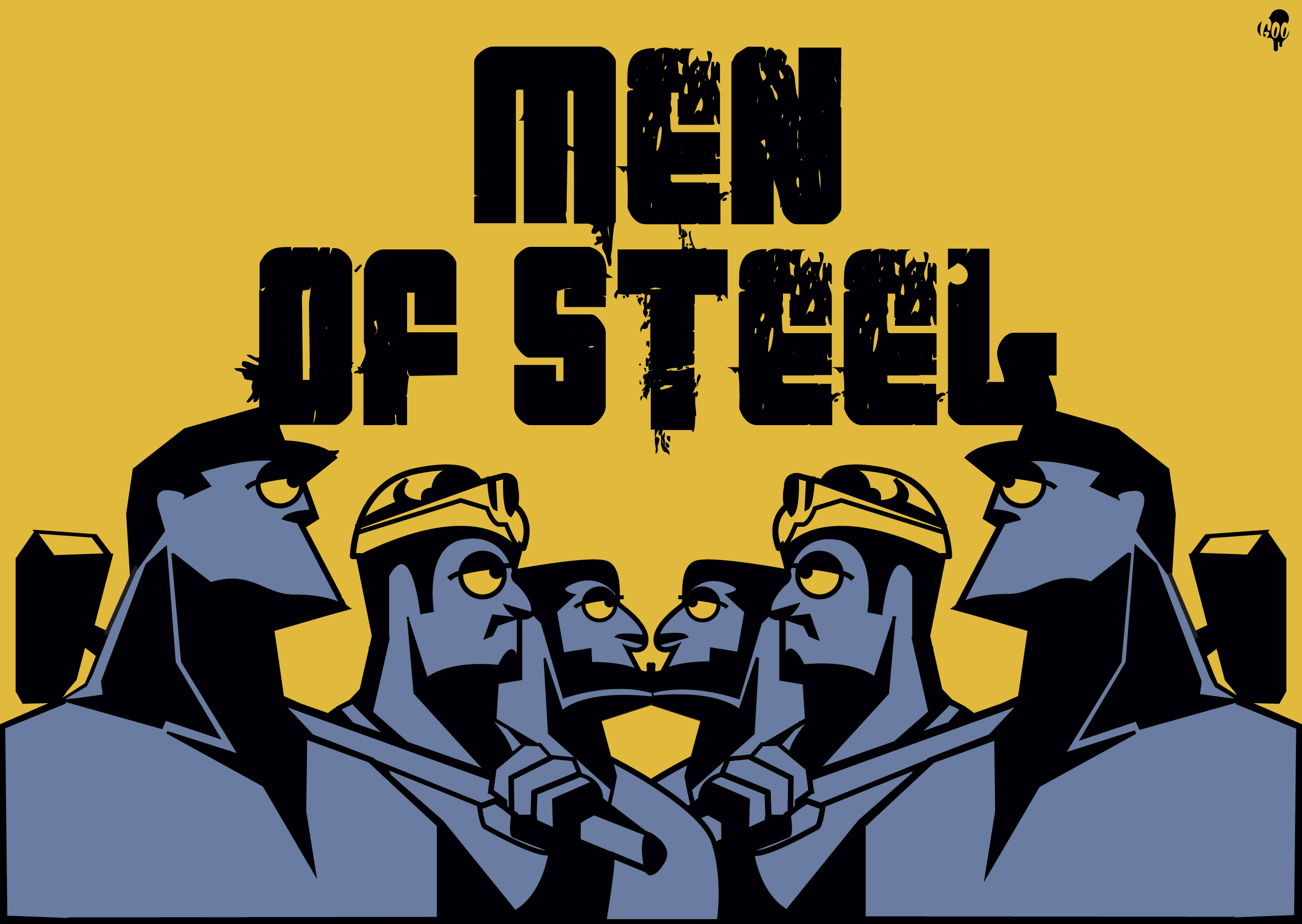 men of steel by goo design